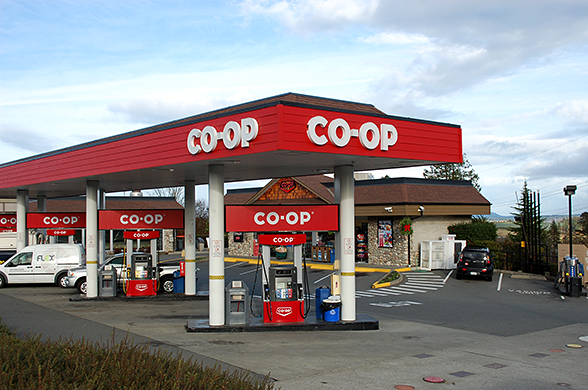 Pat Bay Co-op Gas | Diesel, Propane, Car Wash, Convenience store