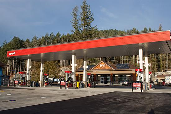 Westshore Parkway Co-op Gas   Diesel, Propane, Car Wash, Convenience store